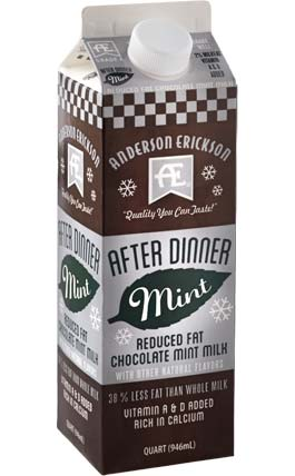 After Dinner Mint Reduced Fat Chocolate Milk