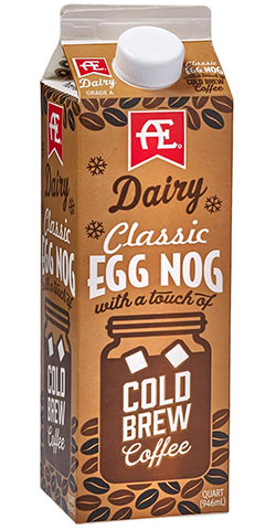 Classic Egg Nog With a Touch of Cold Brew Coffee