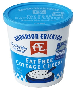 <i>Healthy All Over</i> Fat Free Cottage Cheese