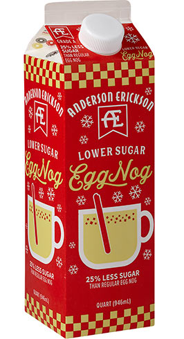Lower Sugar Egg Nog