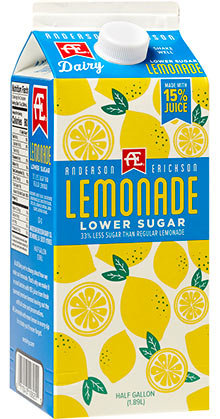 Lower Sugar Lemonade