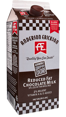Reduced Fat Chocolate Milk