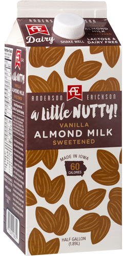 Sweetened Vanilla Almond Milk