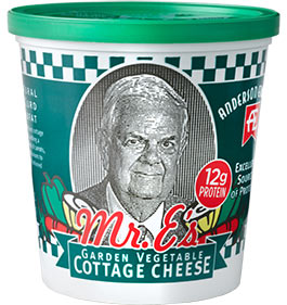 Mr. E's Garden Vegetable Cottage Cheese