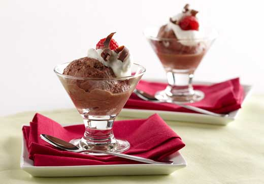 Chocolate-Greek Yogurt Mousse