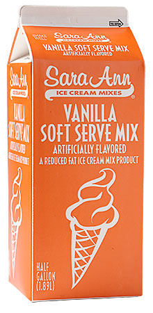 how to make soft serve mix