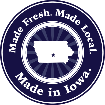 Made Fresh. Made Local. Made in Iowa. AE Dairy