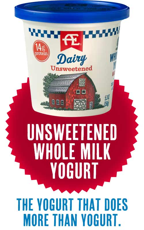 AE Unsweetened Whole Milk Yogurt