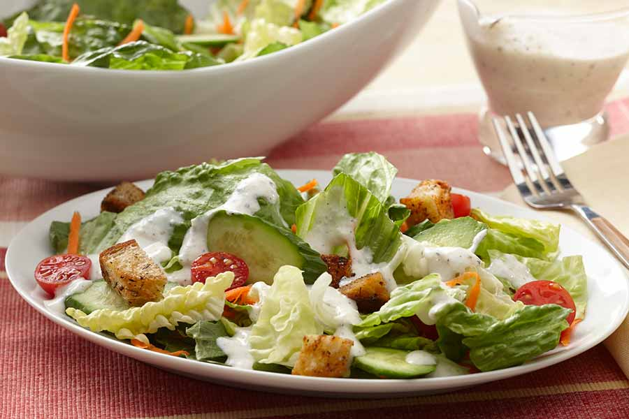 AE Buttermilk and Cottage Cheese team up to give this simple salad ...
