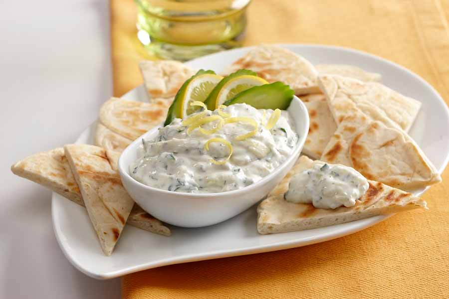 cucumber dip raita a cool creamy dip that also pairs well with middle ...