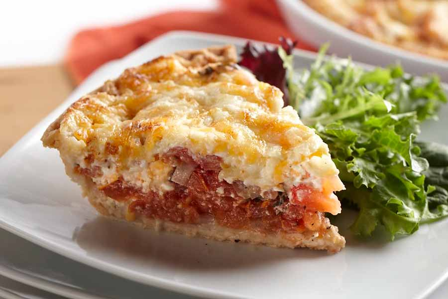 Tomato Cottage Cheese Tart Ae Dairy Recipes